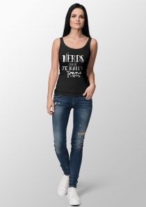 Nerds can be Pirates Too – Ladies' Tank