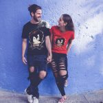 Zodiac-Capricorn-t-shirt-mockup-featuring-a-young-couple-in-love-walking-around-a20583